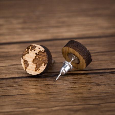 One World Earrings B