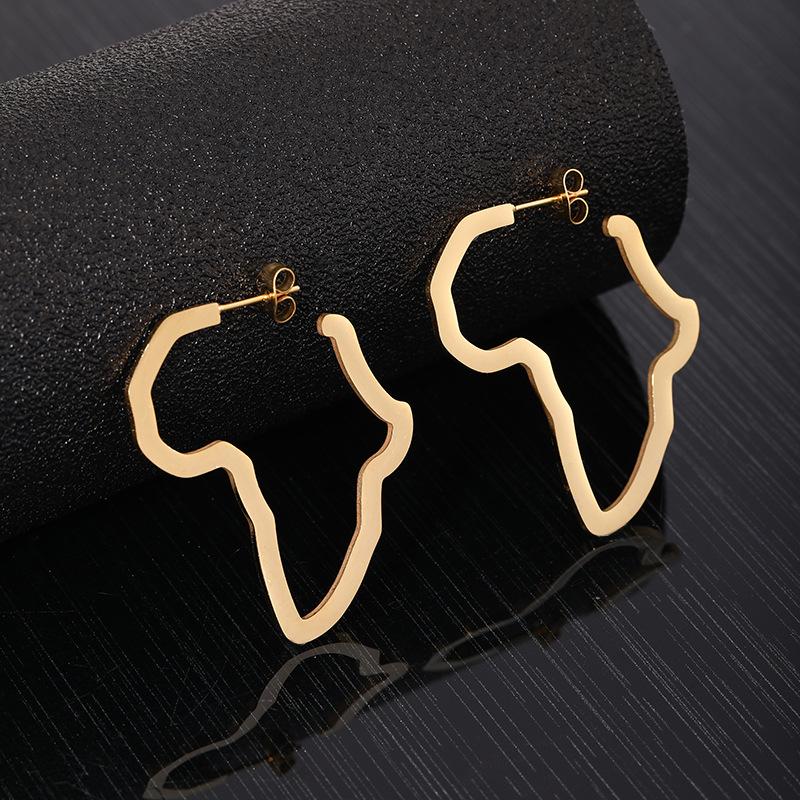 Afrohoop earrings